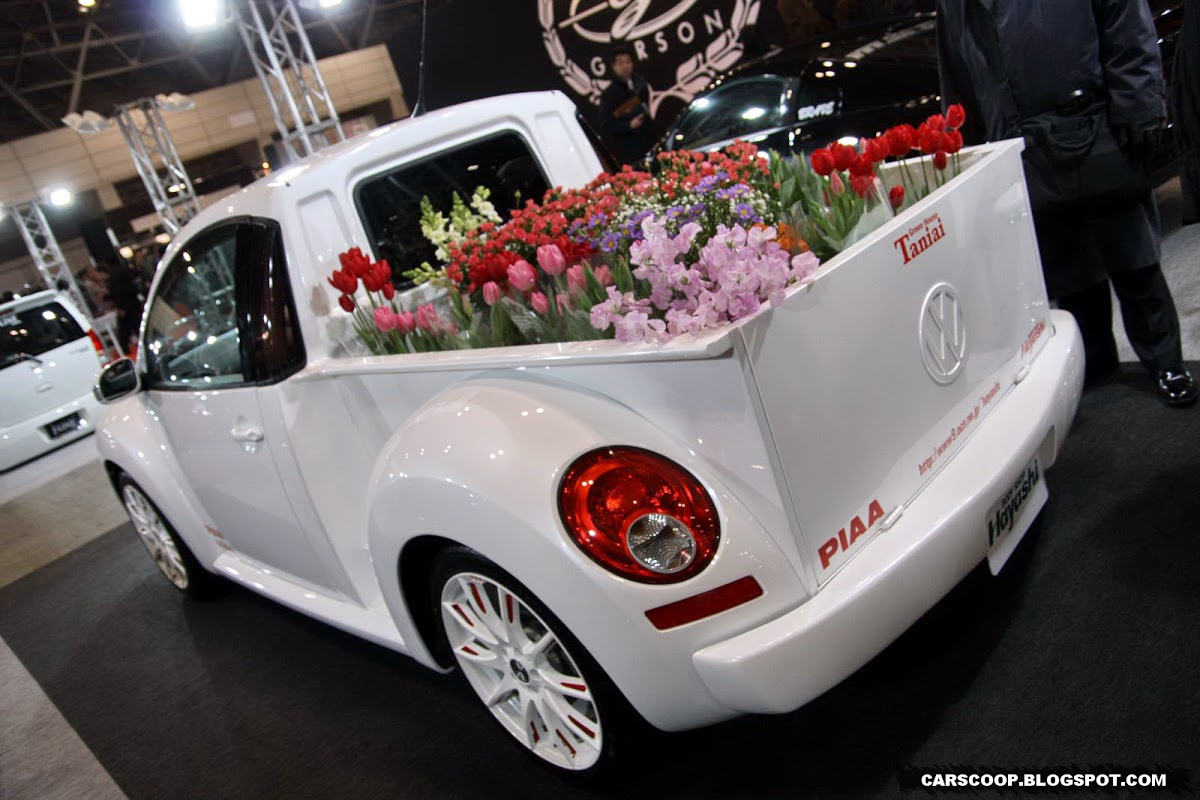 Vw New Beetle Tuning. Volkswagen New Beetle pick-up
